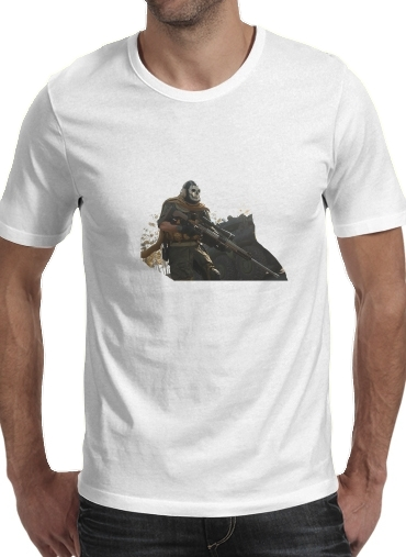 T-Shirts Warzone Ghost Art