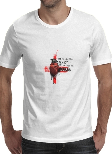 When The Rich Wages War for Men T-Shirt
