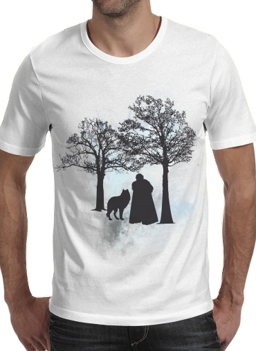 Wolf Snow for Men T-Shirt