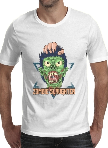 T-Shirts Zombie slaughter illustration