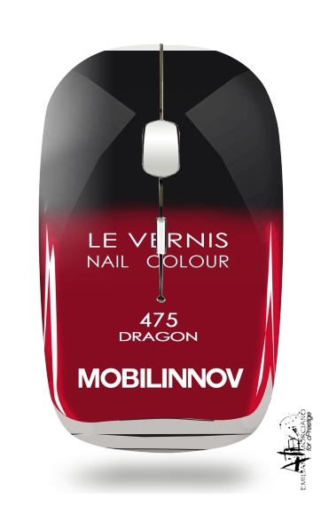 Nail Polish 475 DRAGON for Wireless optical mouse with usb receiver