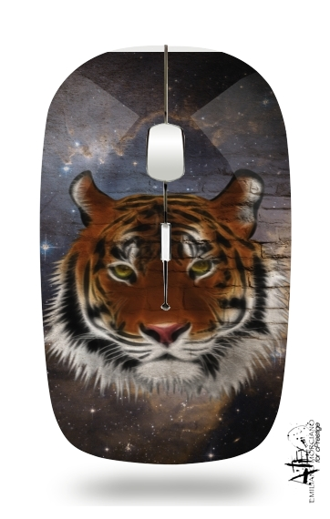 Abstract Tiger for Wireless optical mouse with usb receiver