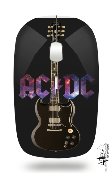 AcDc Guitare Gibson Angus for Wireless optical mouse with usb receiver