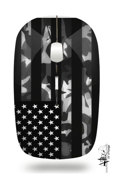 American Camouflage for Wireless optical mouse with usb receiver