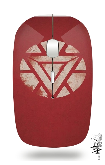 Arc reactor for Wireless optical mouse with usb receiver