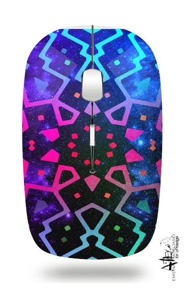Aztec Galaxy for Wireless optical mouse with usb receiver