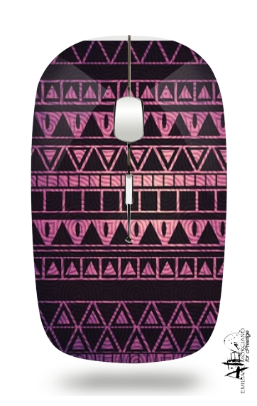 Aztec Pattern II for Wireless optical mouse with usb receiver