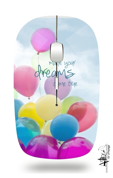 balloon dreams for Wireless optical mouse with usb receiver