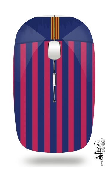 Barcelone Football for Wireless optical mouse with usb receiver
