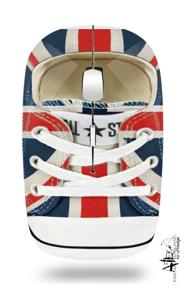 All Star Basket shoes Union Jack London for Wireless optical mouse with usb receiver