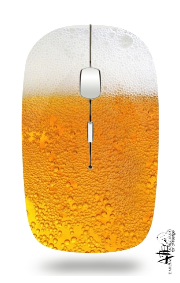 Beer with Foam(Moss) for Wireless optical mouse with usb receiver