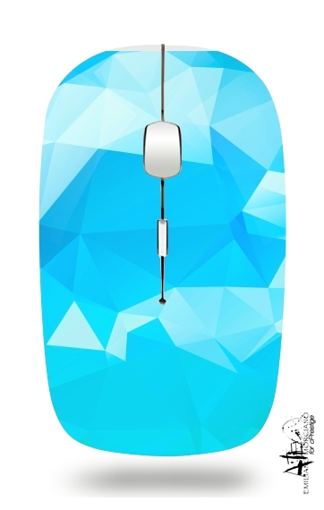 Blue Diamonds for Wireless optical mouse with usb receiver