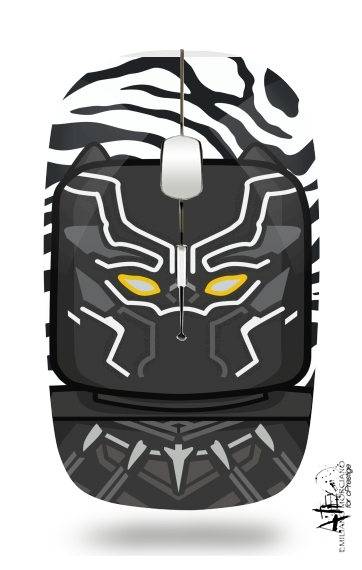 Bricks Black Panther for Wireless optical mouse with usb receiver