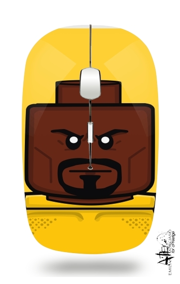 Bricks Defenders Luke Cage for Wireless optical mouse with usb receiver