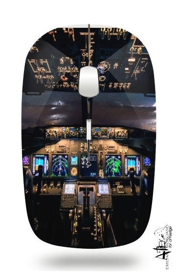 Cockpit Aircraft for Wireless optical mouse with usb receiver