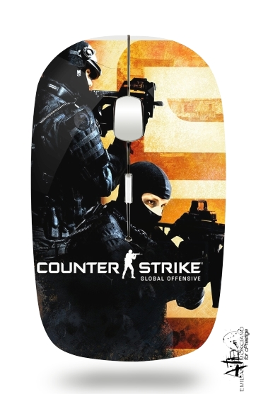 Counter Strike CS GO for Wireless optical mouse with usb receiver