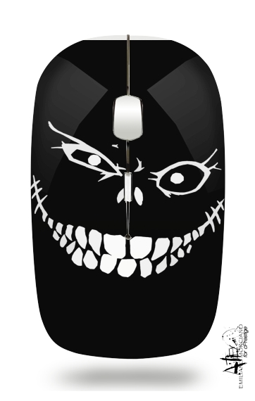 Crazy Monster Grin for Wireless optical mouse with usb receiver
