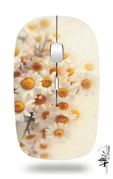daisies for Wireless optical mouse with usb receiver