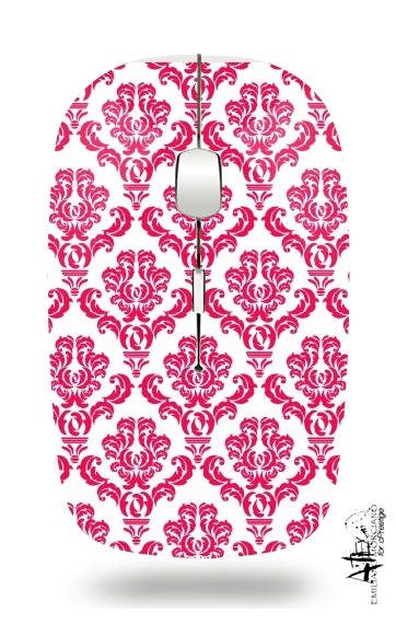 Damask Red for Wireless optical mouse with usb receiver