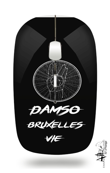 Damso Bruxelles Vie for Wireless optical mouse with usb receiver