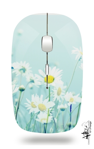 Dancing Daisies for Wireless optical mouse with usb receiver