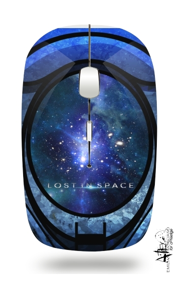 Danger Will Robinson - Lost in space for Wireless optical mouse with usb receiver