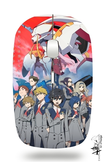 darling in the franxx for Wireless optical mouse with usb receiver