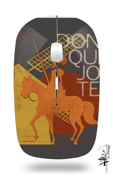 Don Quixote for Wireless optical mouse with usb receiver