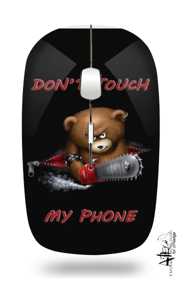Don't touch my phone for Wireless optical mouse with usb receiver
