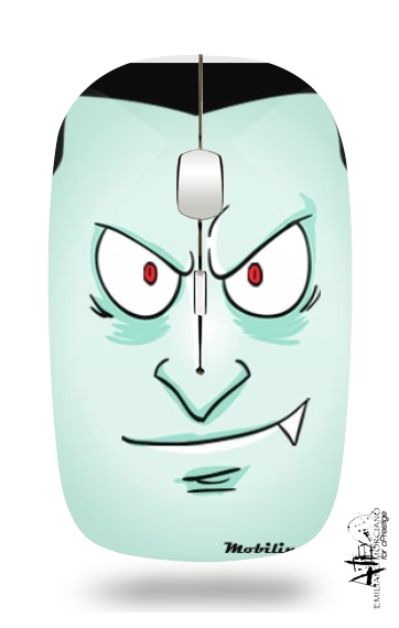 Dracula Face for Wireless optical mouse with usb receiver