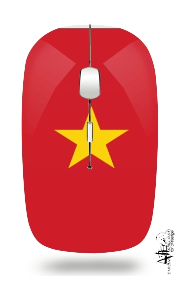 Flag of Vietnam for Wireless optical mouse with usb receiver