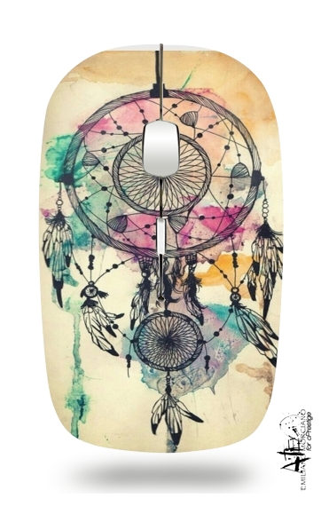 Dream catcher for Wireless optical mouse with usb receiver