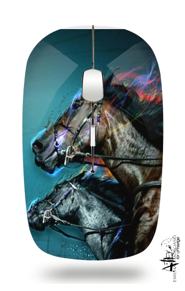 Horse-race - Equitation for Wireless optical mouse with usb receiver