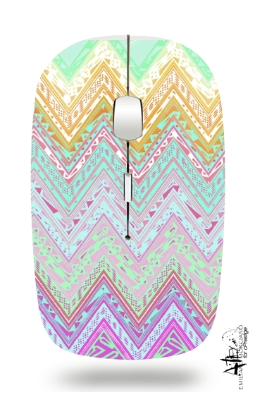 ETHNIC CHEVRON for Wireless optical mouse with usb receiver