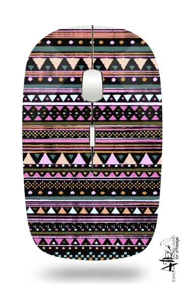 Ethnic Tribal for Wireless optical mouse with usb receiver