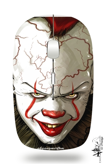 Evil Clown  for Wireless optical mouse with usb receiver