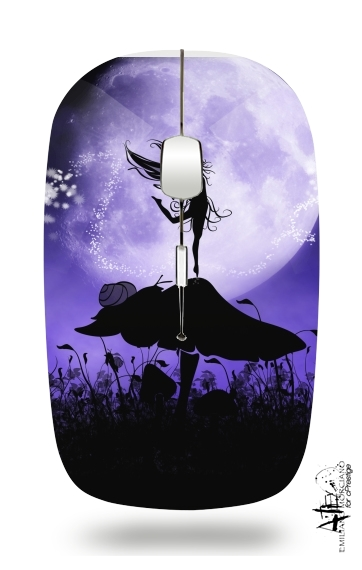 Fairy Silhouette 2 for Wireless optical mouse with usb receiver