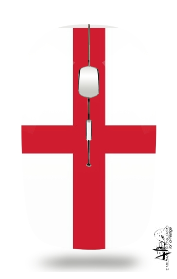 Flag England for Wireless optical mouse with usb receiver