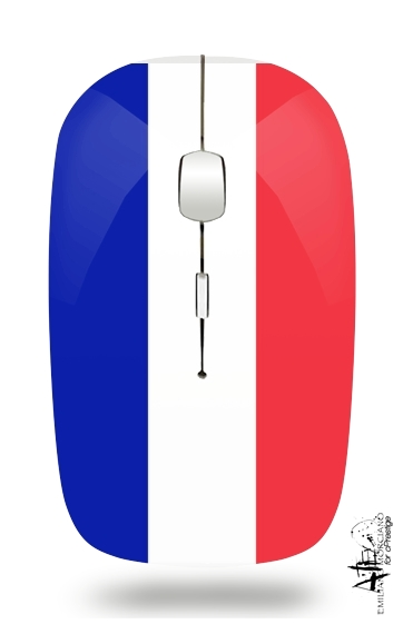 Flag France for Wireless optical mouse with usb receiver