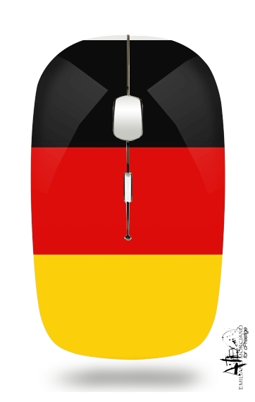 Flag Germany for Wireless optical mouse with usb receiver