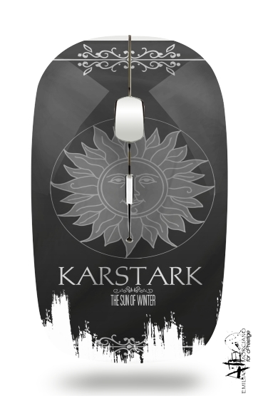 Flag House Karstark for Wireless optical mouse with usb receiver