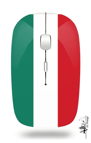 Flag Italy for Wireless optical mouse with usb receiver