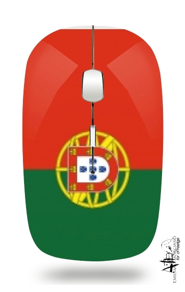Flag Portugal for Wireless optical mouse with usb receiver