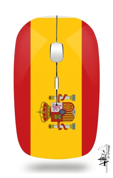 Flag Spain for Wireless optical mouse with usb receiver