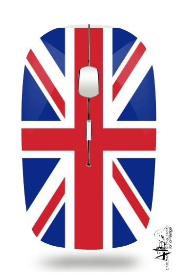 Flag Union Jack for Wireless optical mouse with usb receiver