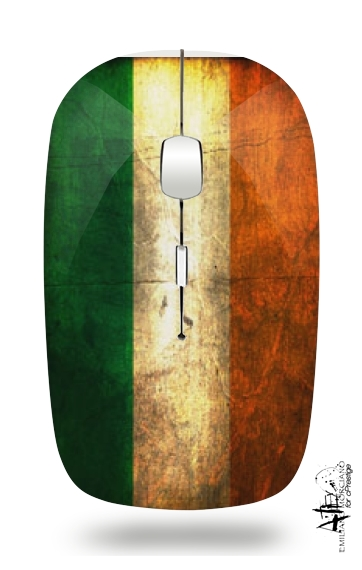 Flag Italy Vintage for Wireless optical mouse with usb receiver