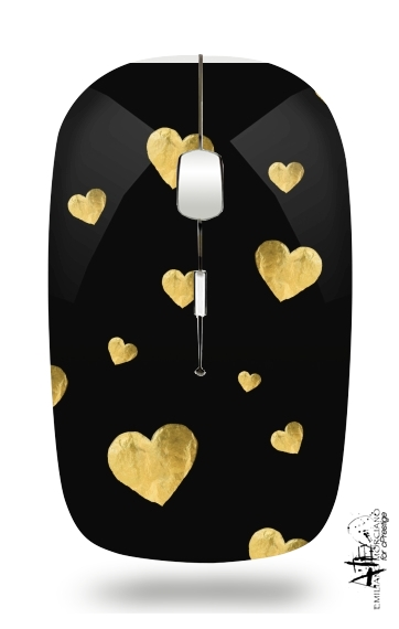 Floating Hearts for Wireless optical mouse with usb receiver