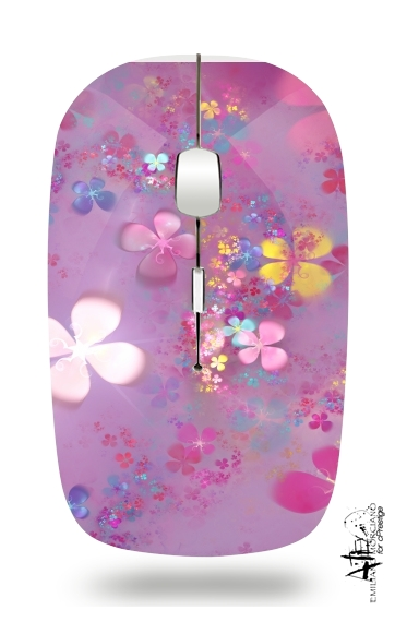 Flower Power for Wireless optical mouse with usb receiver