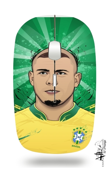 Football Legends: Ronaldo R9 Brasil  for Wireless optical mouse with usb receiver