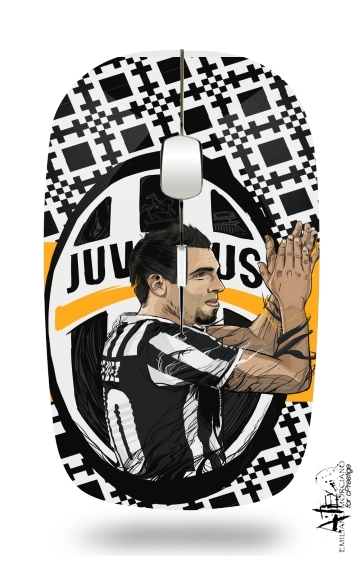Football Stars: Carlos Tevez - Juventus for Wireless optical mouse with usb receiver